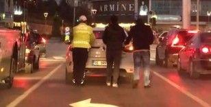 Bursa Polisi'nden takdirlik hareket...