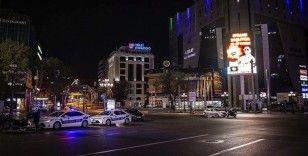 Başkentte sokağa çıkma kısıtlamasını ihlal eden 798 kişiye ceza uygulandı
