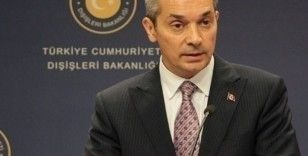 Dışişleri'nden Yunanistan Dışişleri Bakanı'na tepki