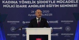 Bakan Soylu: Türkiye, AK Parti hükümetleriyle birlikte kadına şiddet konusunda samimi bir gayret ortaya koymuştur