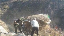 Tunceli'de kaçak avcıların kurduğu 41 adet güme imha edildi