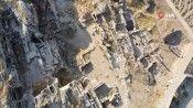 Yer altındaki Perre Antik Şehir için ilk kepçe vuruldu