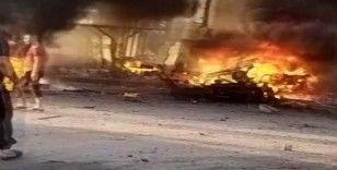 Afrin'de bombalı araç patladı