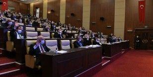 Ankara Büyükşehir Belediyesinin bütçesi 13 milyar 345 milyon lira olarak belirlendi