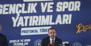 Gençlik ve Spor Bakanlığı'ndan Erzincan'a dev yatırım
