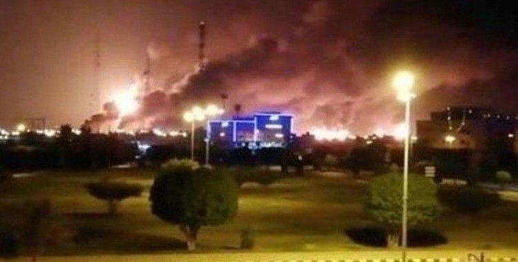 Suudi Arabistan'da limanda patlama