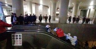 Taksim metrosunda seferler normalde döndü