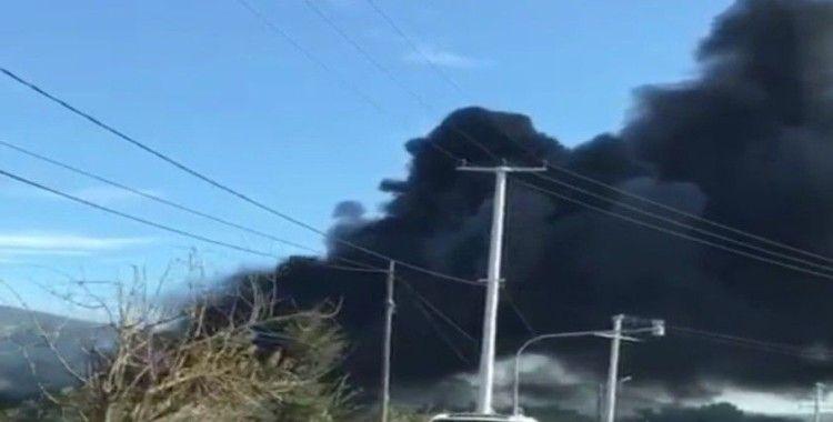 Mesire alanında bulunan restoranda yangın