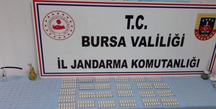Bursa'da 3 farklı adrese eş zamanlı uyuşturucu operasyonu