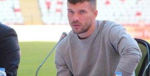 Podolski: 'Türkiye benim ikinci vatanım'
