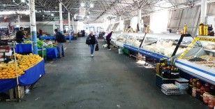 Bodrum'da koronavirüs pazarları boş bıraktı