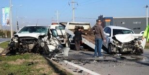 Lise öğretmen feci kazada hayatını kaybetti