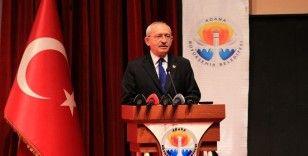 CHP Genel Başkanı Kılıçdaroğlu: 'Ahlaklı bir siyaseti bu coğrafyaya getirmek istiyoruz'