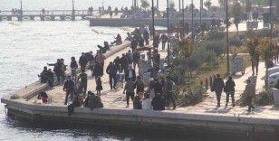 Vakaların arttığı İzmir'de hafta sonu yoğunluğu