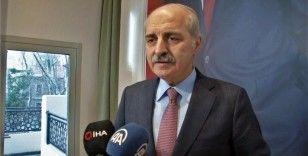 AK Parti Genel Başkanvekili Numan Kurtulmuş'tan TSK mensuplarına yapılan saygısızlıkla ilgili konuştu