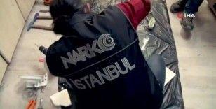 İstanbul'da 65 kiloya yakın Afyon sakızı ele geçirildi