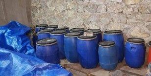 Çorum'da 'kaçak içki' operasyonu: Bin 863 litre ele geçirildi
