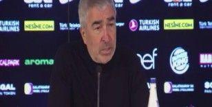 Samet Aybaba: 'Bu maça çok iyi hazırlanmıştık'