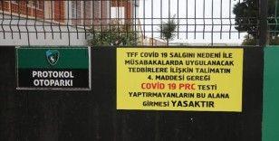 17 futbolcusunun korona virüs testi pozitif çıkan Kocaelispor'un maçları ertelendi