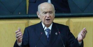 MHP Genel Başkanı Bahçeli CHP'ye ateş püskürdü