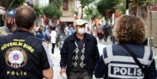 Maske takılması zorunluluğuna uymadığı tespit edilen 18 bin 747 kişiye idari para cezası verildi