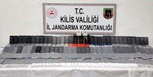 Kilis'te kaçak cep telefonları ele geçirildi