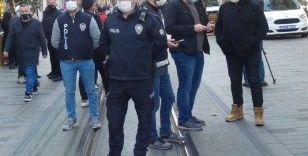 İstiklal Caddesi'nde yeni korona virüs tedbirleri