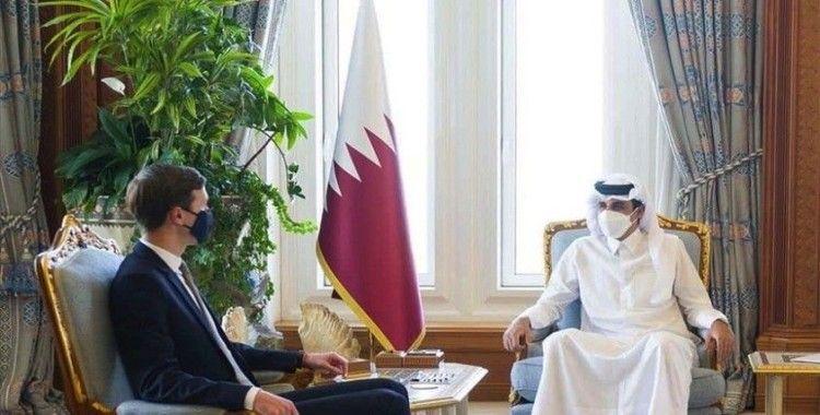 Katar Emiri ile Kushner Orta Doğu'daki gelişmeleri görüştü