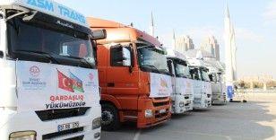 Türkiye Diyanet Vakfı'ndan Azerbaycan'a 6 tır yardım