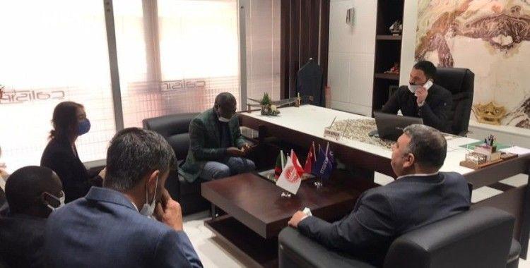 TÜSİKON, Zambiya Büyükelçiliği heyetini Konya'da ağırladı