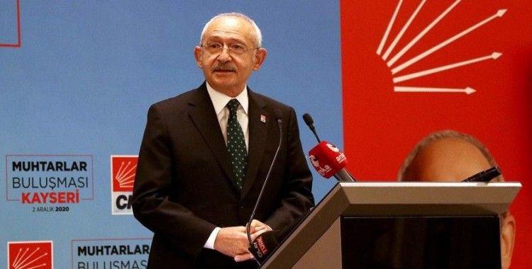 CHP Genel Başkanı Kılıçdaroğlu: Yeni bir siyaset anlayışı getirmek istiyorum