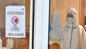 İtalya'da Kovid-19 salgınında günlük en yüksek ölü sayısı kaydedildi