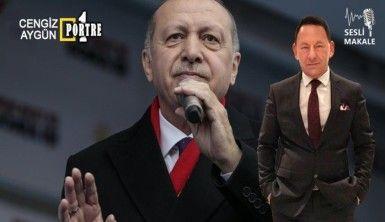 Erdoğan muhalefetin yerine de muhalefet etsin…