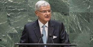 BM Genel Kurul Başkanı Bozkır: Hiçbir devlet bu salgınla tek başına mücadele edemez