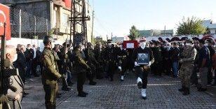 Zeytin Dalı bölgesinde şehit olan asker son yolculuğuna uğurlandı