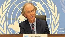 BM Suriye Özel Temsilcisi Pedersen: Suriye Anayasa Komitesi 5'inci turu 25-29 Ocak 2021'de gerçekleşecek