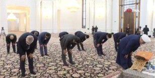 Dağlık Karabağ'da şehit Azerbaycan askerleri için namaz kılındı