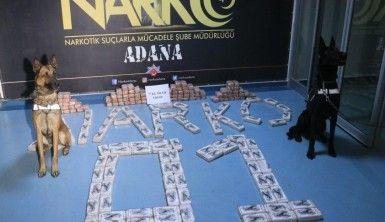 Adana'da 77 kilo 500 gram eroin ele geçirildi