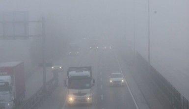 Kocaeli'de yoğun sis etkili oluyor