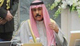 Kuveyt Emiri Şeyh Nevvaf Körfez krizinin çözümündeki ilerlemeden dolayı memnuniyet duyduğunu söyledi