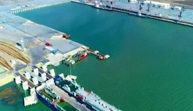 Türkiye'den Çin'e giden ihracat treni, yarın Bakü Deniz Limanı'na ulaşacak