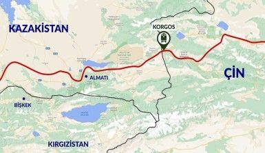 Türkiye'nin ilk ihracat treni Çin'e ulaştı