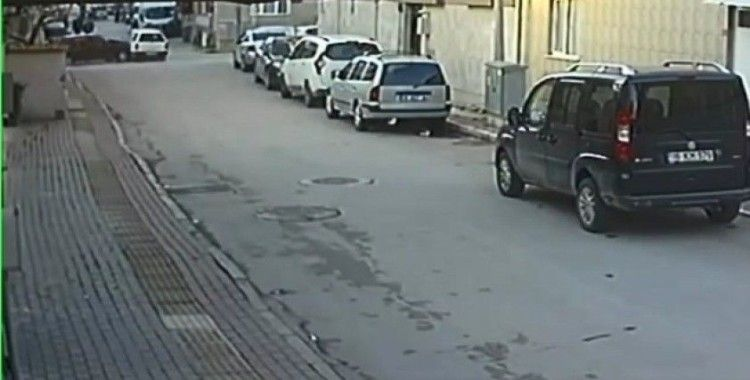 Sokak aralarındaki hız kazayla son buldu
