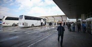 Şehirler arası otobüs yolcusu 2020'de yüzde 60 azaldı