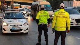 Kısıtlama sonrası İstanbul'da denetimler başladı