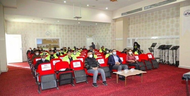 Elazığ Belediyesi 'Temel İş Sağlığı ve Güvenliği' konulu eğitim semineri verildi