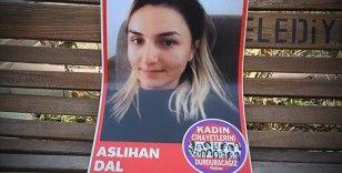 Çorum'da boğularak öldürülen Aslı Dal'ın evinin önünde kadın cinayetleri protesto edildi