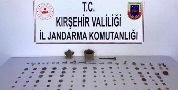 Kırşehir Jandarma'dan tarihi eser operasyonu