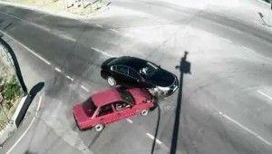 Osmaniye'deki trafik kazaları kameralara yansıdı