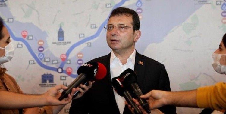 İBB Başkanı İmamoğlu'ndan Bakan Kurum'a 'Kanal İstanbul' tepkisi